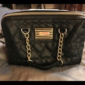 Betsy Johnson quilted bag